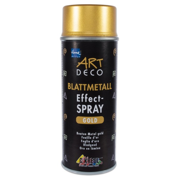 Art Deco Blattmetall Effekt-Spray 400ml Goldeffekt