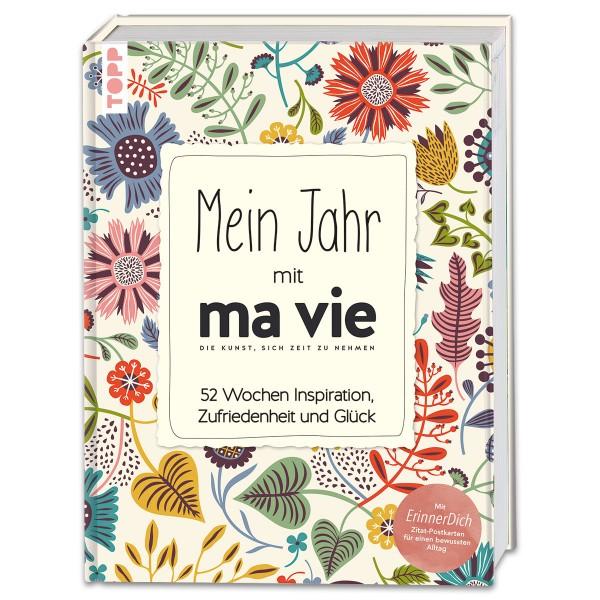 Buch - Mein Jahr mit ma vie 160 Seiten, 21x16cm, Hardcover