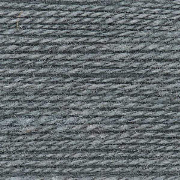 Creative Nature 50g ca. 100m blau-grau Nadel Stricken Nr. 3,5, 100% Hanf