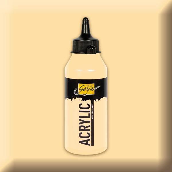 SOLO GOYA Acrylic 250ml beige Acrylfarbe
