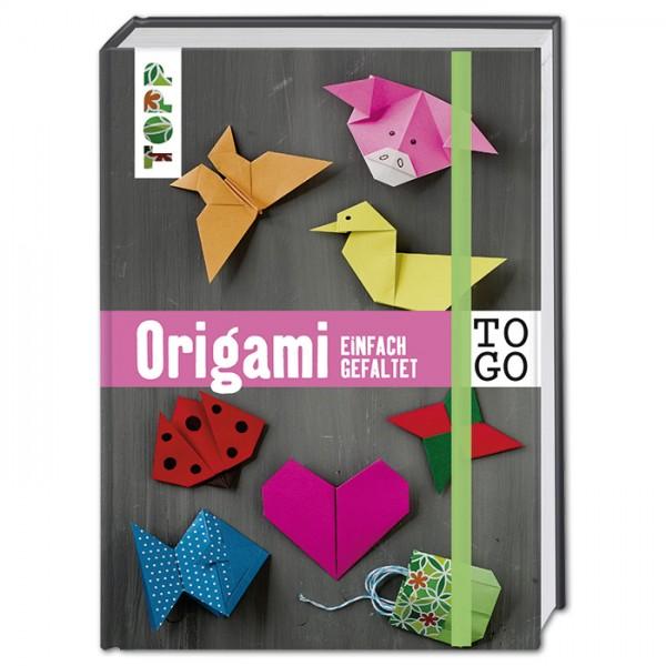 Buch - Origami to go: einfach gefaltet 160 Seiten, 11,3x15,5cm, Hardcover