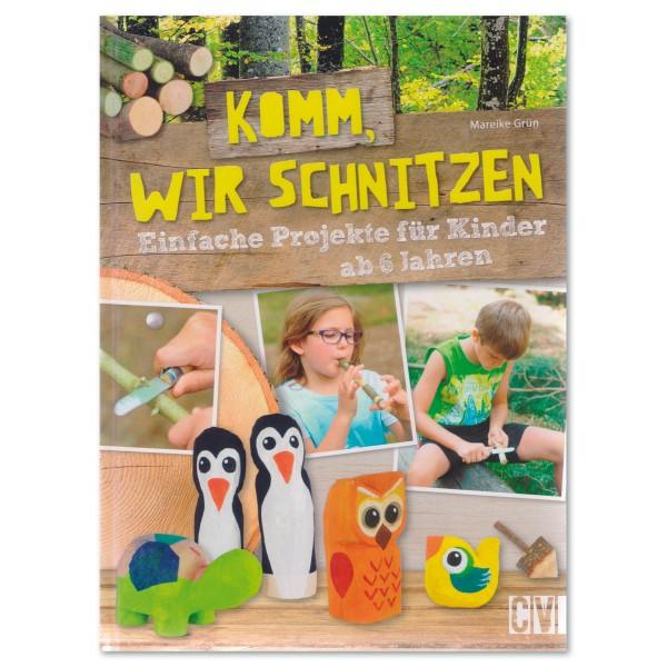 Buch - Komm, wir schnitzen 80 Seiten, 20,2x27,1cm, Hardcover