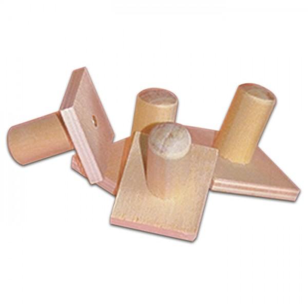 Stempelhalter aus Holz 5,5x5,5cm