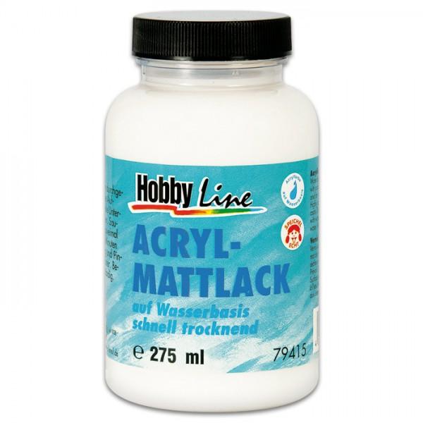Acryl-Mattlack auf Wasserbasis 275ml