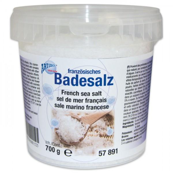 Französisches Badesalz grobkörnig 700g