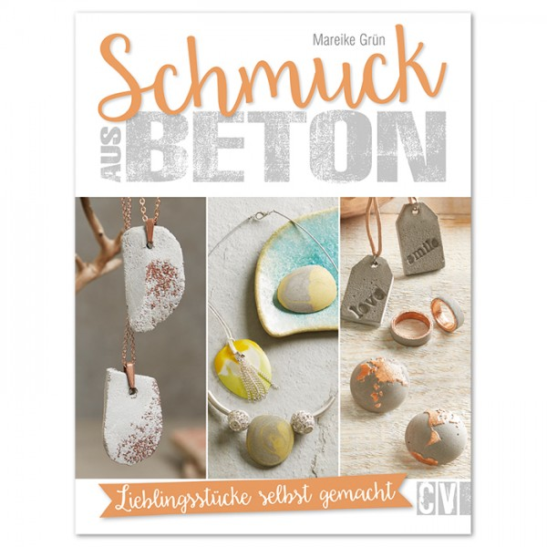 Buch - Schmuck aus Beton 64 Seiten, 17x22cm, Softcover