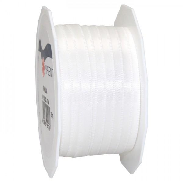 Satinband 10mm 25m creme 100% Polyester