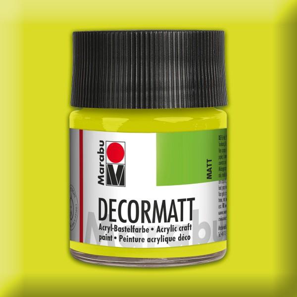 Decorlack Acryl matt 50ml reseda