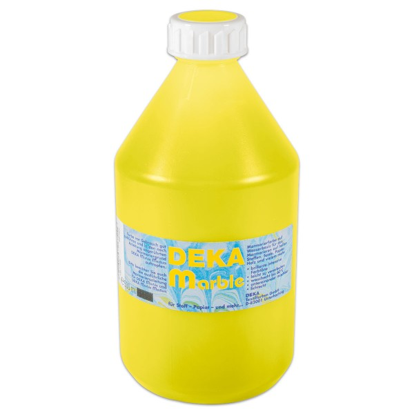 Deka-Marble Marmorierfarbe 500ml zitron