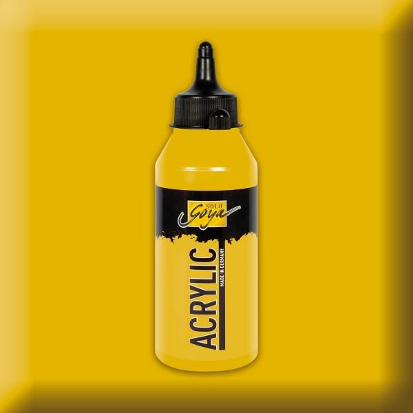Solo Goya Acrylic 250ml gold metallic Acrylfarbe