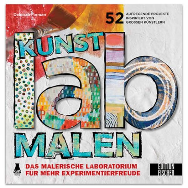 Buch - Kunst-Lab Malen 136 Seiten, 22x22cm, Softcover