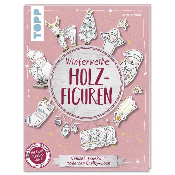 Buch - Winterweiße Holzfiguren 48 Seiten, 16,9x22cm, Softcover
