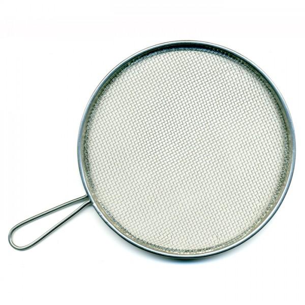 Spritzsieb Metall Ø 12cm rund