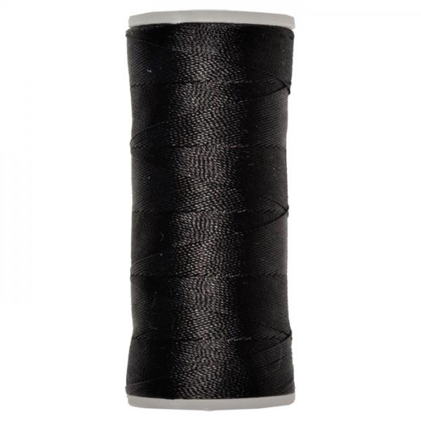 Nylongarn 0,35mm 25g ca. 300m schwarz zum Häkeln und Fädeln, 100% Nylon
