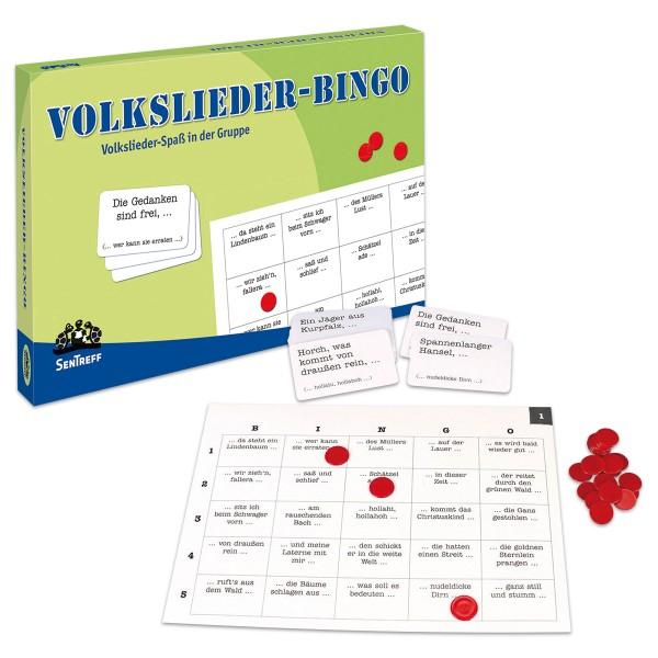 Spiel - Volkslieder Bingo