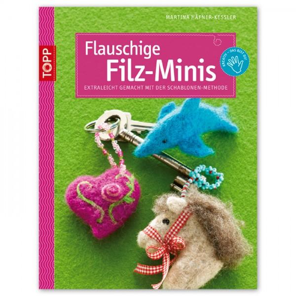Buch - Flauschige Filz-Minis 32 Seiten, 17x22cm, Softcover