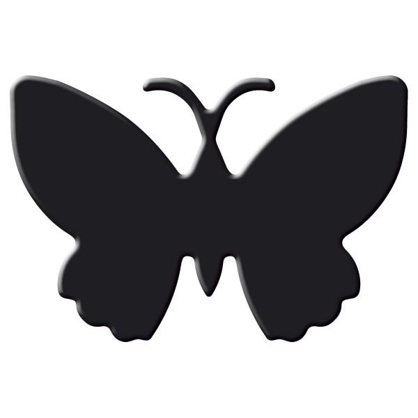 Flexi-Motivstanzer ca. 4cm Schmetterling/Falter Kunststoff/Metall, für Papiere bis 220g/m²