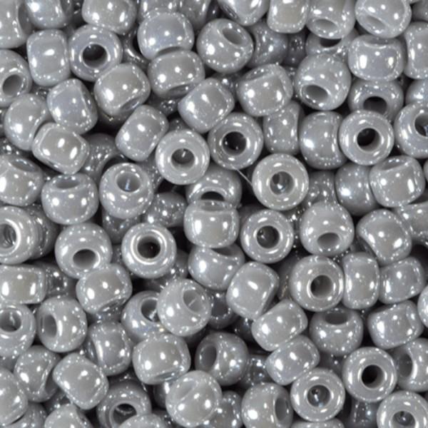Miyukibeads Pearl Glas 2,2mm 12g grey Lochgr. ca. 0,9mm