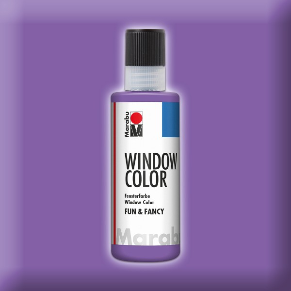 Marabu fun&fancy 80ml lavendel Windowcolor