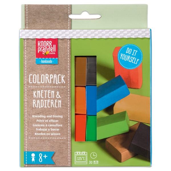 Kneten & Radieren Colorpack Basic 6 Modelliermassen à 20g, ab 8 Jahren