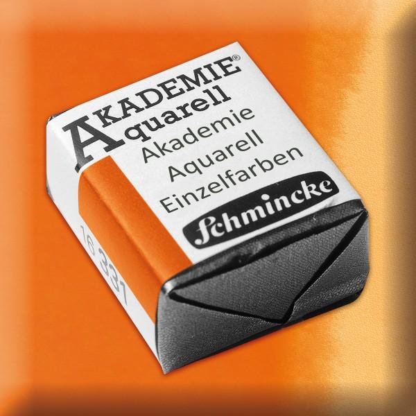 Akademie Aquarell 1,6ml orange ½ Näpfchen
