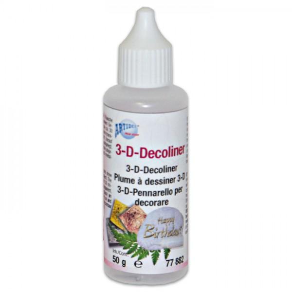 3D-Decoliner/Folienkleber feine Malspitze 50g