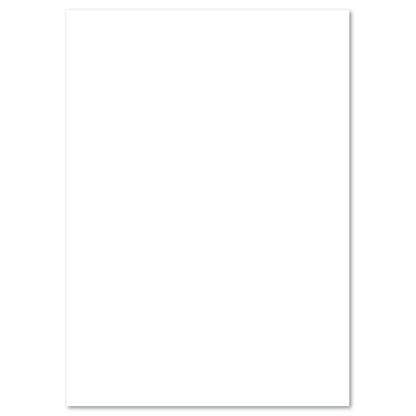 Tonkarton 220g/m² 50x70cm 25 Bl. weiß