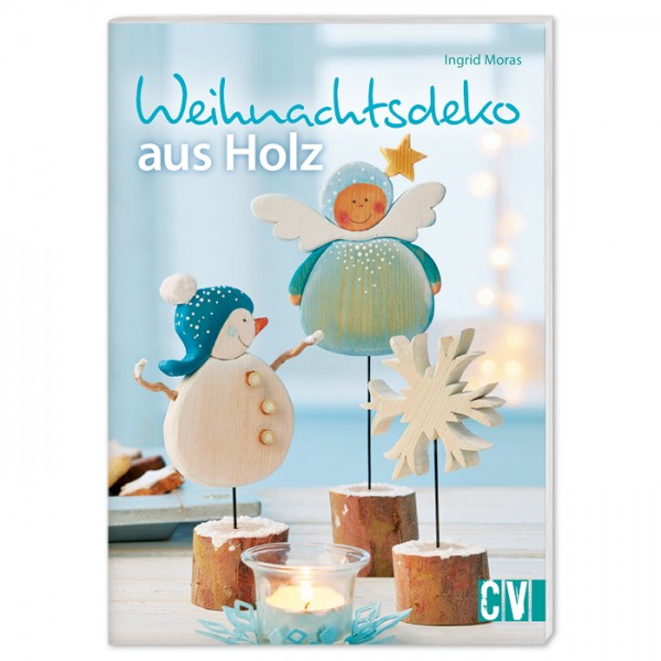 Buch - Weihnachtsdeko aus Holz 32 Seiten, 14,8x21cm, Softcover