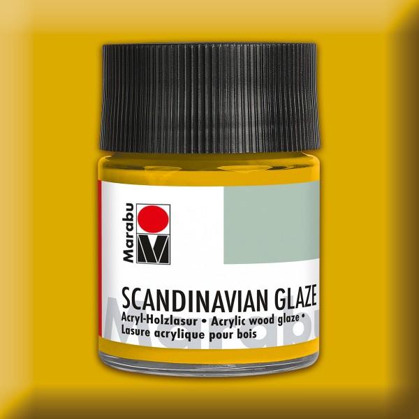Skandinavian Glaze 50ml Schimmer-gold Acryl-Holzlasur