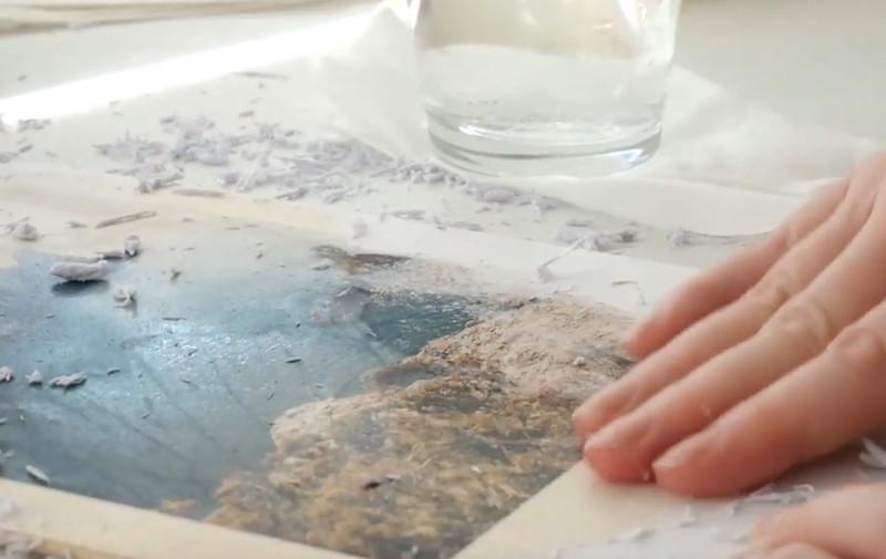"Video ""Urlaubsfotos auf Holz übertragen mit KREUL Foto Transfer Potch"""