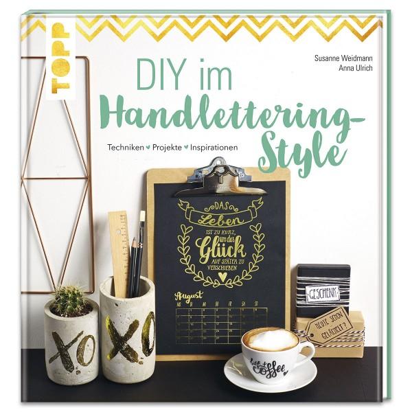 Buch - DIY im Handlettering-Style 80 Seiten, 22,2x23,5cm, Hardcover