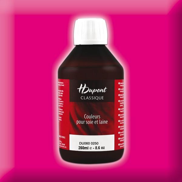 H.Dupont Classique 250ml Rose Tyrien/pink Seidenmalfarbe, Dampffixierung