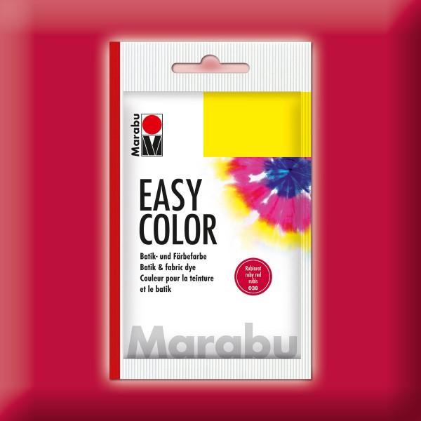 Marabu EasyColor Batik-/Textilfarbe 25g rubinrot