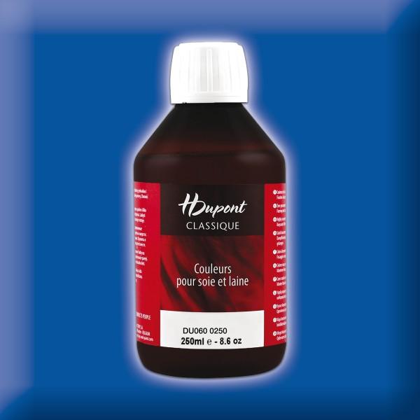 H.Dupont Classique 250ml Outremer/ultramarin Seidenmalfarbe, Dampffixierung