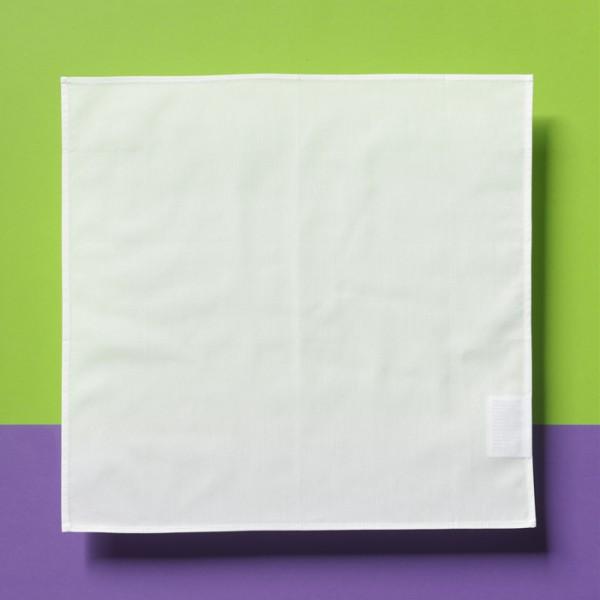 Serviette 38x38cm gebleicht 100% Baumwolle