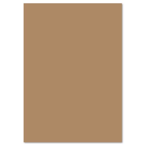 Tonpapier 130g/m² DIN A4 100 Bl. rehbraun