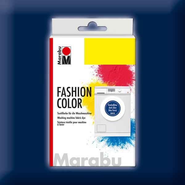 Marabu Fashion Color 30g dunkelblau kochechte Textilfarbe