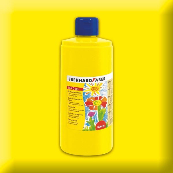 Color-Schulmalfarbe 500ml gelb