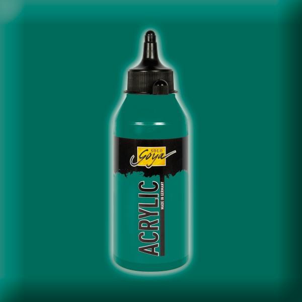 Solo Goya Acrylic 250ml dunkelgrün Acrylfarbe