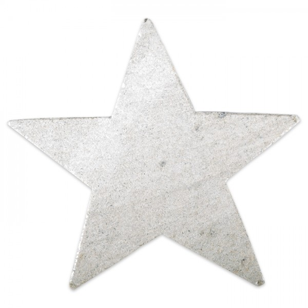 Speckstein-Rohling ca. 10cm Stern ohne Bohrung
