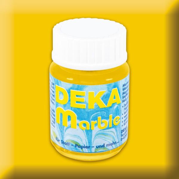 Deka-Marble Marmorierfarbe 25ml gelb