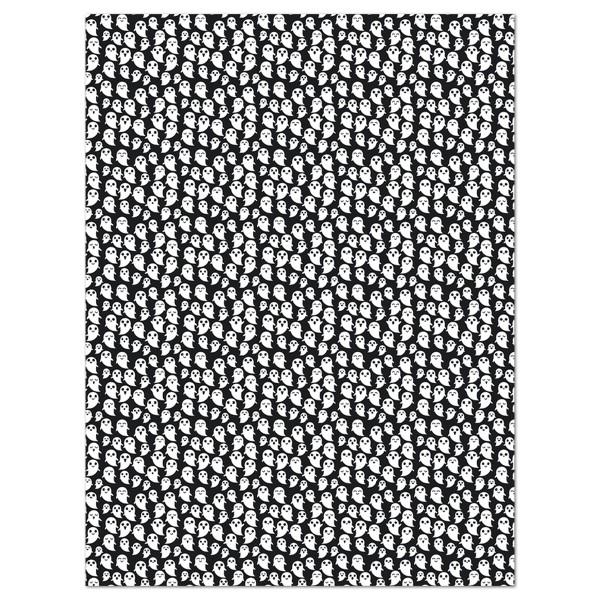 Decoupagepapier schwarz mit Geistern von Décopatch, 30x40cm, 20g/m²