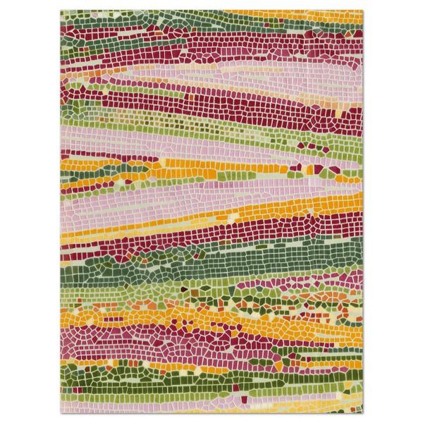 Decoupagepapier Mosaik mattbunt von Décopatch, 30x40cm, 20g/m²