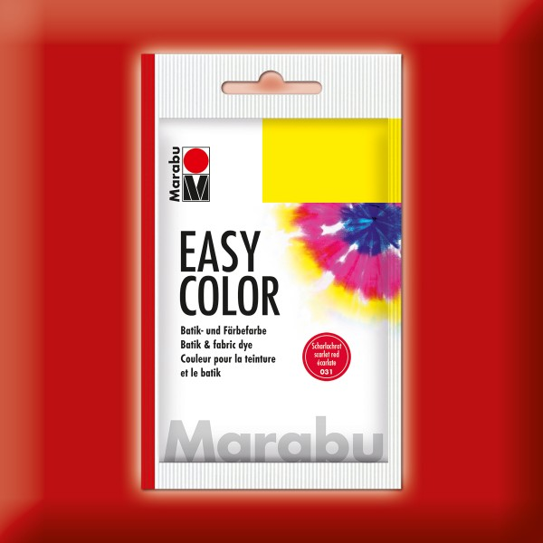 Marabu EasyColor Batik-/Textilfarbe 25g scharlachrot