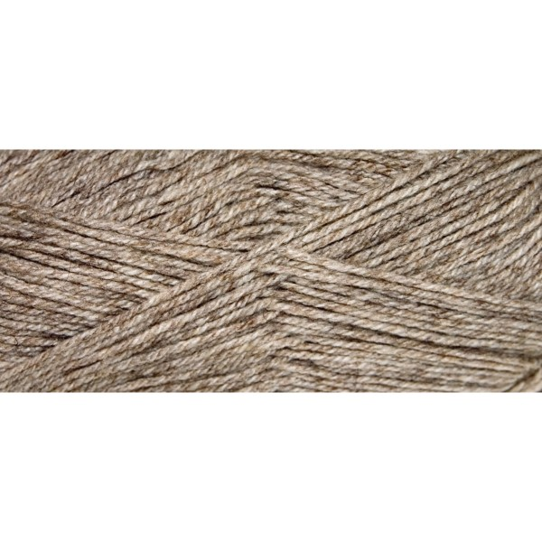 Hauswolle Rustikal ca. 100g hellbeige 60% Wolle, 40% Polyacryl