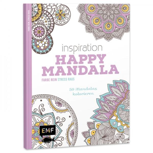 Buch - Inspiration Happy Mandala 64 Seiten, 22x17cm, Softcover