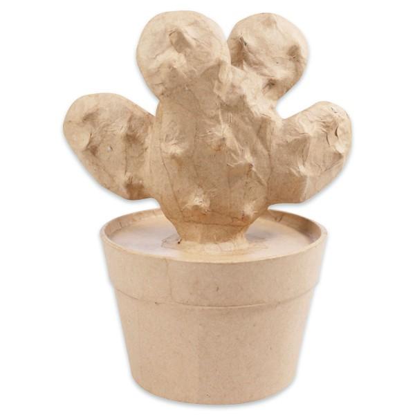 Kaktus Schläger Pappmaché 9,5x13x16,5cm von Décopatch