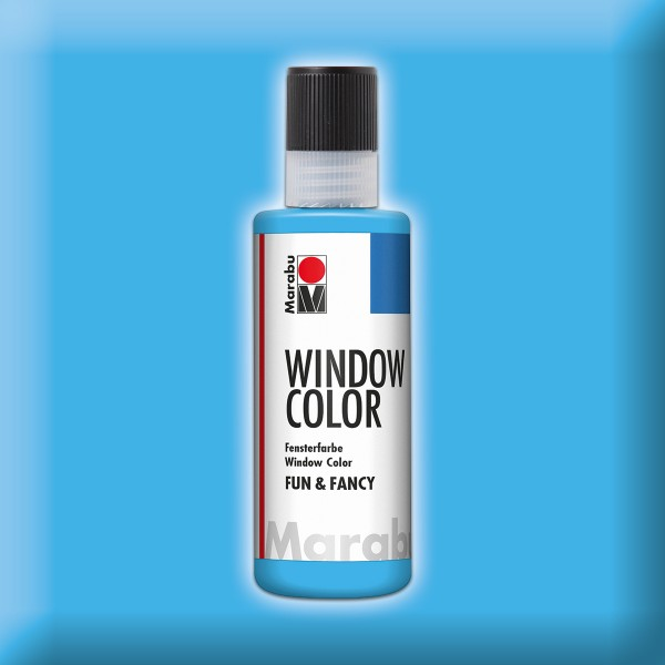 Marabu fun&fancy 80ml hellblau Windowcolor
