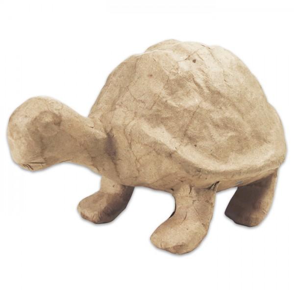 Schildkröte Pappmaché 16x9,5x10cm Größe S, von Décopatch