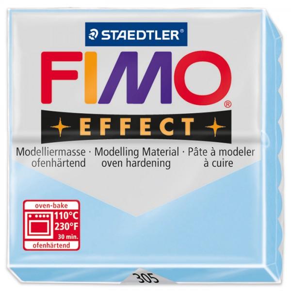 FIMO effect 55x55x15mm 57g pastell aqua ofenhärtende Modelliermasse